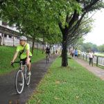 Belgienii experimentează pistele de biciclete încălzite, în București se experimentează pistele doar